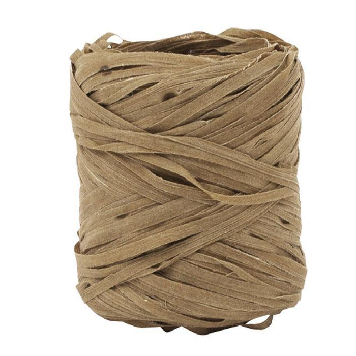 Load image into Gallery viewer, Natural Raffia Ribbon in Natural - Go Green