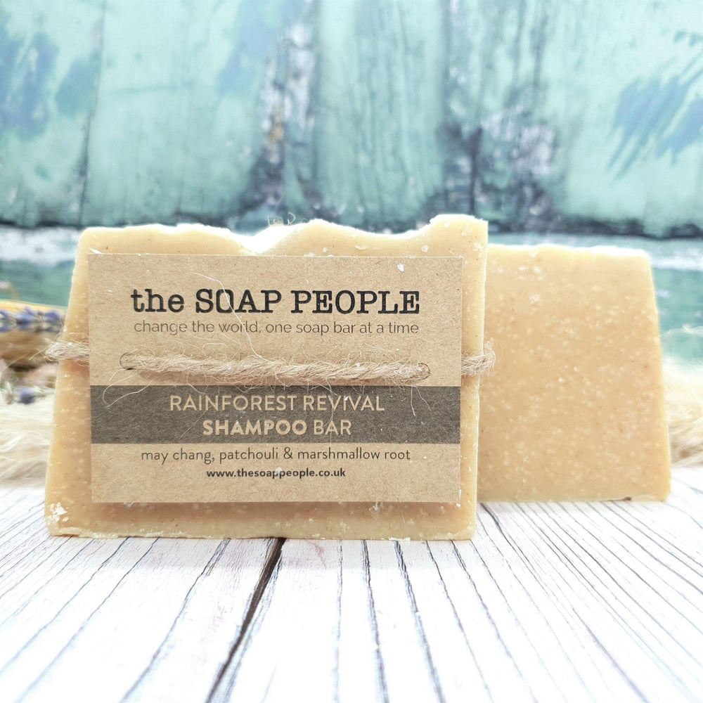 Rainforest Revival Shampoo Bar for Normal/Oily Hair – The Soap People