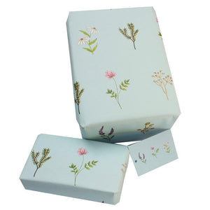 Eco-friendly Recycled Wrapping Paper - Wild Flowers by Re-wrapped