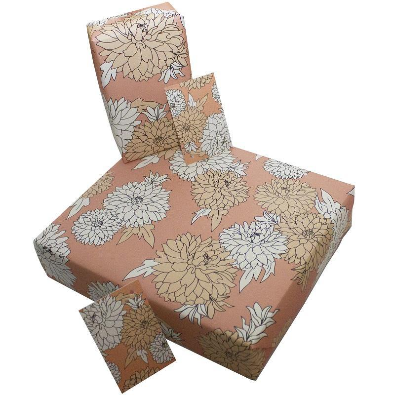Eco-friendly Recycled Wrapping Paper - Petals by Re-wrapped