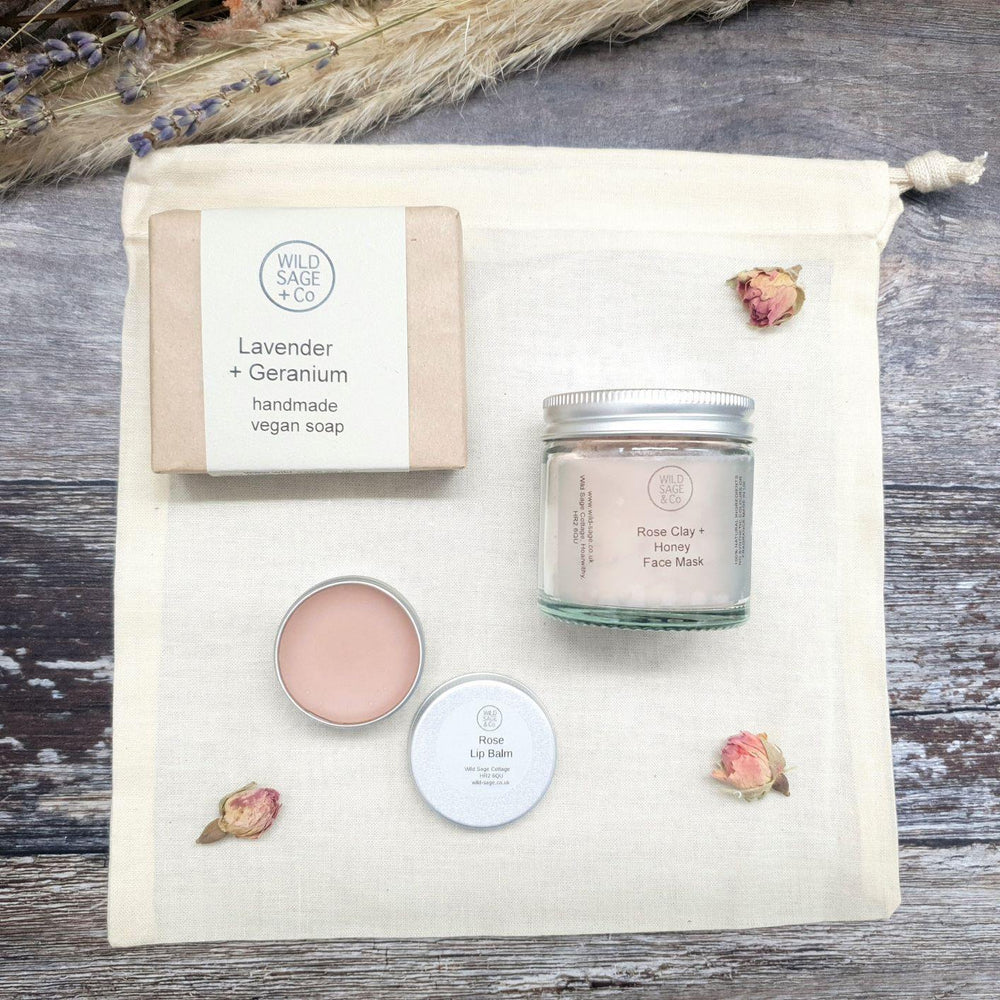Rose Gift Set - Wild Sage & Co - Vera-Bee Limited