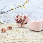 Rose Garden Nourishing Bath Bomb - Little Blue Hen Soap