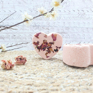 Load image into Gallery viewer, Rose Garden Nourishing Bath Bomb - Little Blue Hen Soap