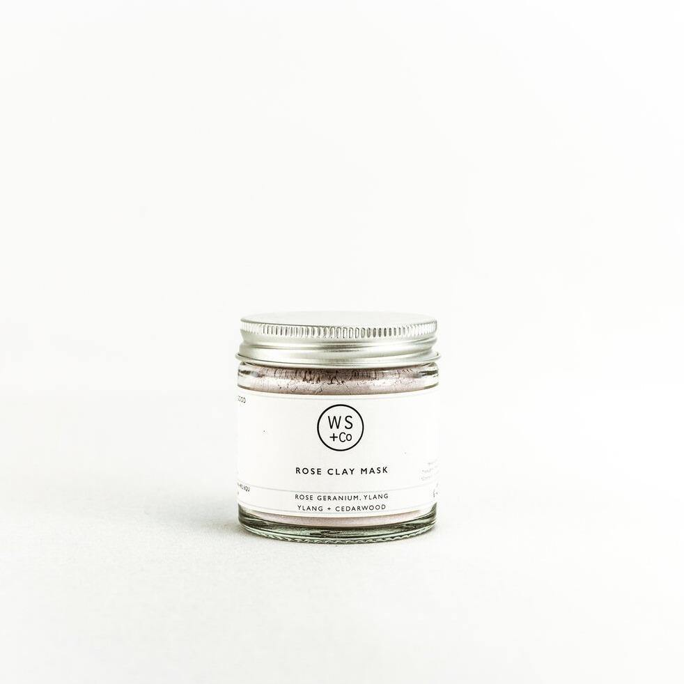 Rose Clay & Honey Face Mask - Wild Sage & Co