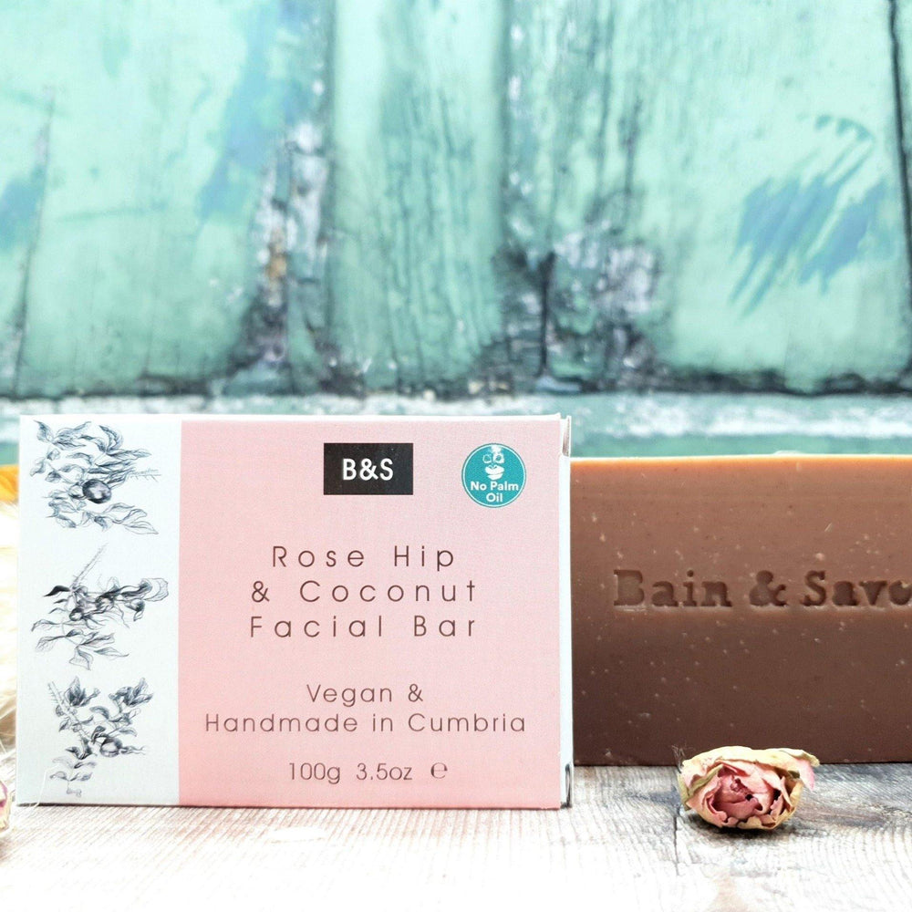 Rose Hip & Coconut Soap Bar Face - Bain & Savon