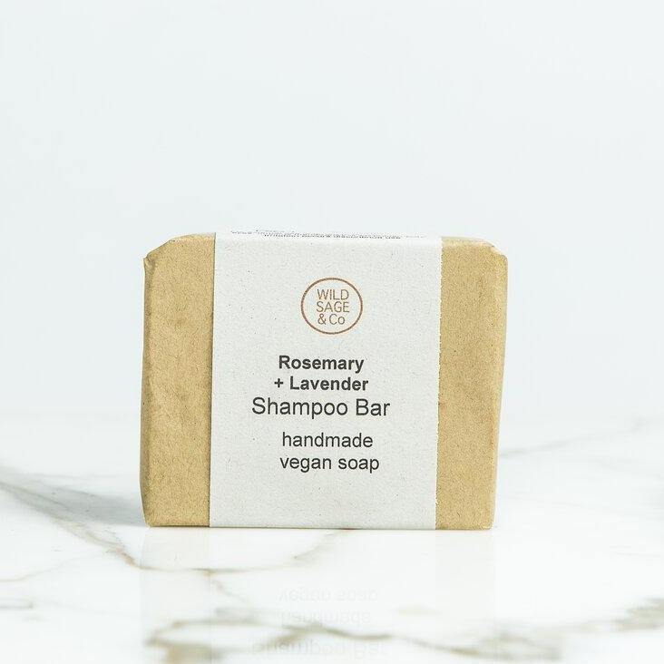 Rosemary & Lavender Shampoo Bar –  Wild Sage & Co - Vera-Bee Limited