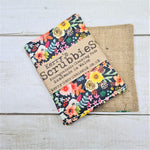 Scrubbies Heavy Duty Unsponge Pack of 2 - Flowers