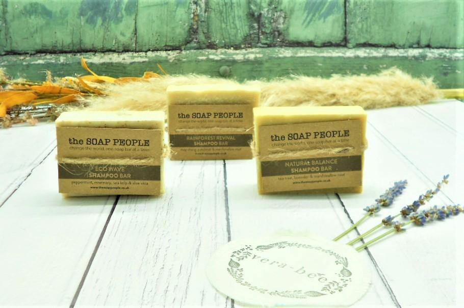 Eco Wave Shampoo Bar for Normal/Dry Hair – The Soap People - Vera-Bee Limited