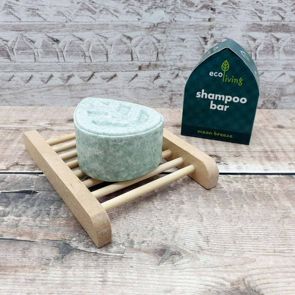 Vegan Eco-friendly Ocean Breeze Shampoo Bar - ecoLiving