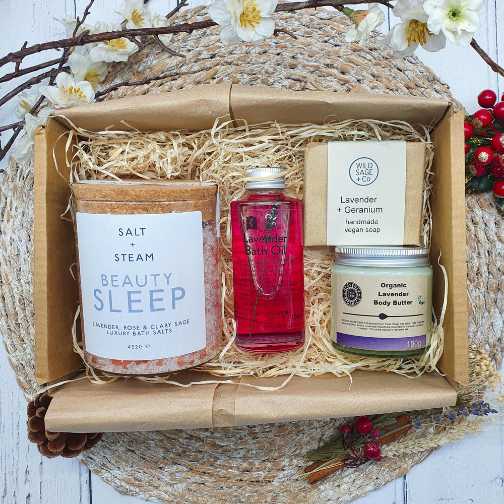 Relax & Sleep Self-Care Gift Set