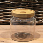 Glass Jar with Bamboo Lid 500ml - All Earth