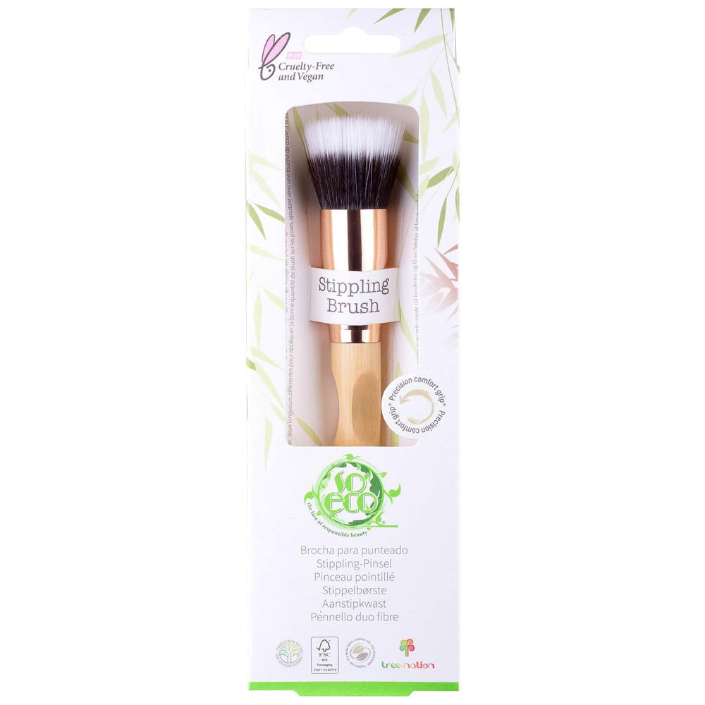 Stippling Finishing Brush - So Eco