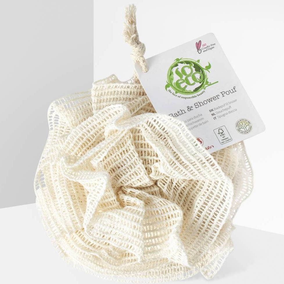 Natural Ramie Bath & Shower Puff - So Eco