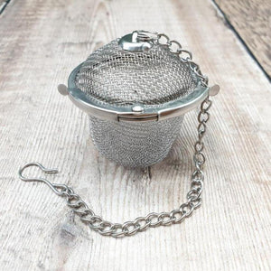 Load image into Gallery viewer, Stainless Steel Loose Leaf Tea Infuser - EcoLiving