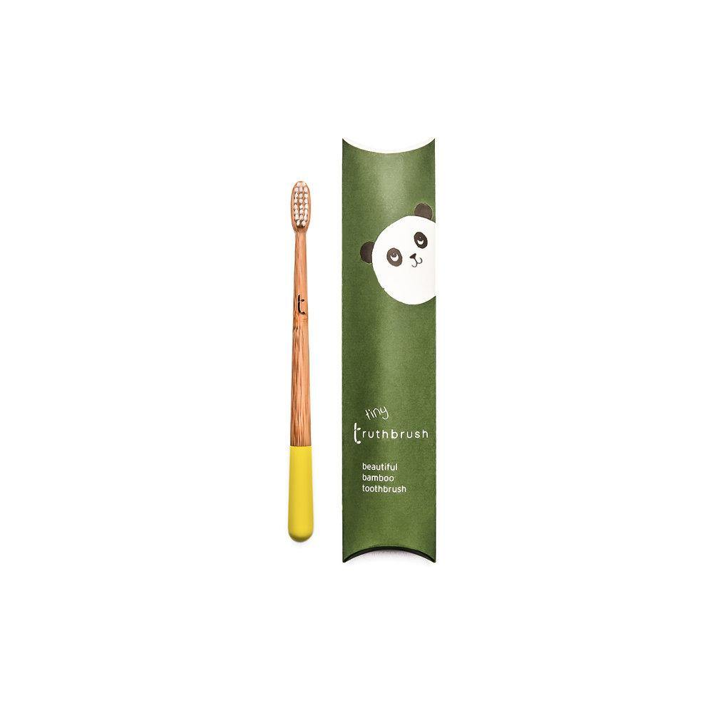 Bamboo Children's Truthbrush - Toothbrush in Yellow
