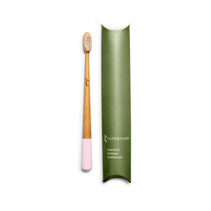 Bamboo Truthbrush - Toothbrush in Pink