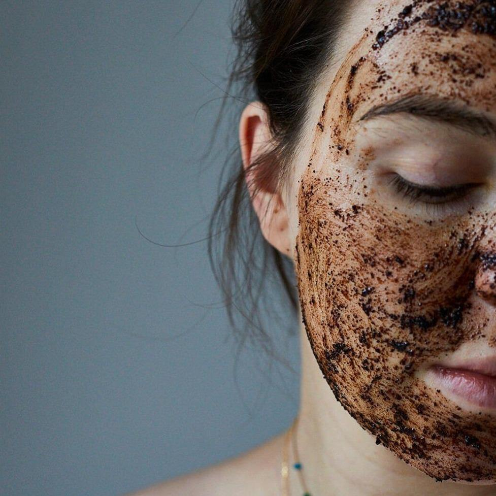 Natural Coffee Face Scrub for Oily/Combination Skin - UpCircle