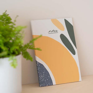 Recycled A5 Notebook Lined Paper - Olive - Vent for Change - Vera-Bee Limited