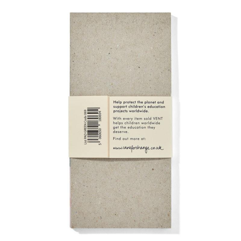 Recycled Paper List Pad - Ideas Green - Vent for Change