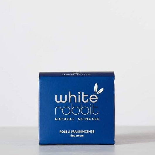 Rose & Frankincense Anti-Ageing Day Cream – White Rabbit Skincare