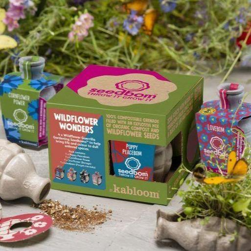 Wildflower Wonders Seedbom Gift Box - Kabloom