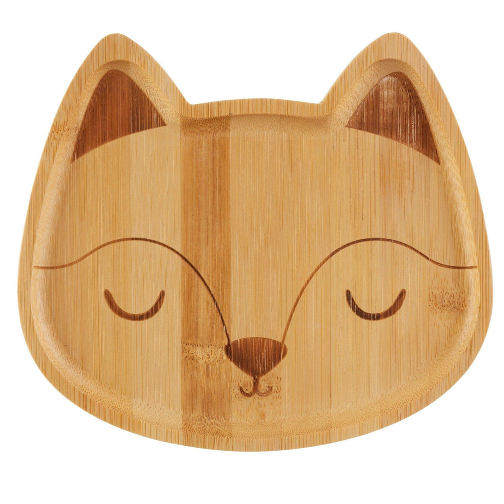 Load image into Gallery viewer, Woodland Fox Bamboo Plate - Sass & Belle - Vera-Bee Limited