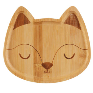 Woodland Fox Bamboo Plate - Sass & Belle - Vera-Bee Limited