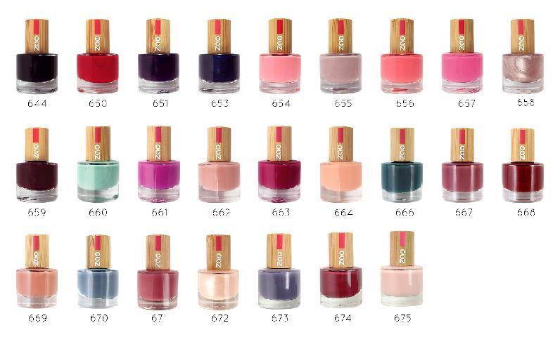 Nail Varnish - Zao Makeup