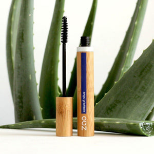Load image into Gallery viewer, Aloe Vera Mascara Refillable Black 090 - Zao Makeup