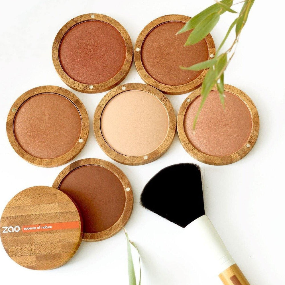 Mineral Cooked Powder (Bronzer) Refillable- Zao Makeup