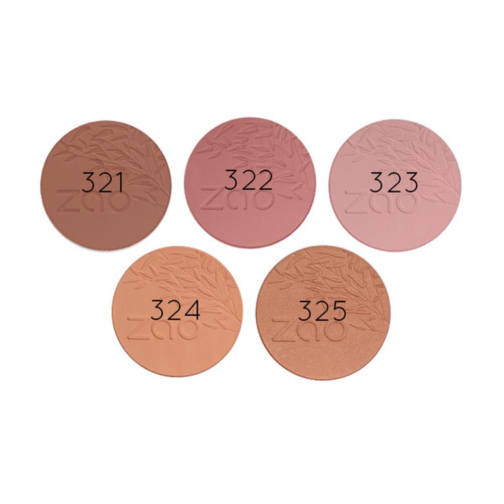 Blush Compact Refillable - Zao Makeup