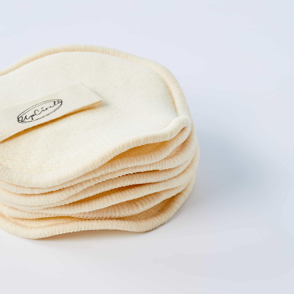 UpCircle Hemp & Cotton Makeup Pads with Mesh Wash Bag - Vera-Bee