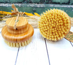 Bamboo Body Brush with Coconut bristles. Dry brushing. Massge. Natural. Sustainable. Plastic Free. Vera-Bee.