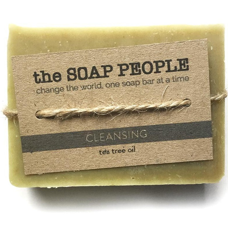 Cleansing Tea Tree Soap Bar - The Soap People