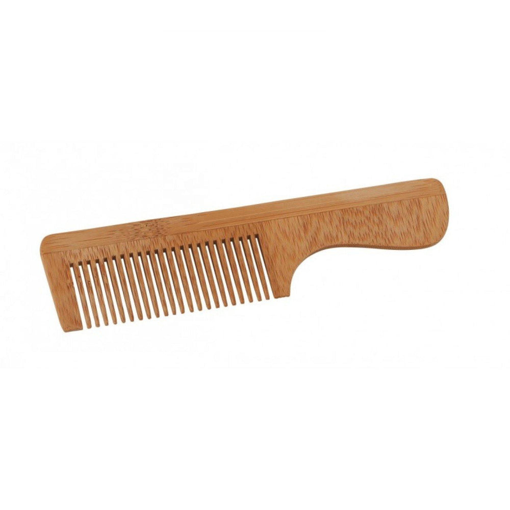 Wooden Hair Comb with handle - Croll & Denecke