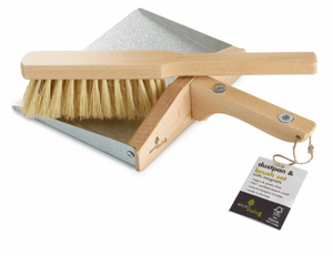 Load image into Gallery viewer, Dustpan & Brush Set 100% FSC