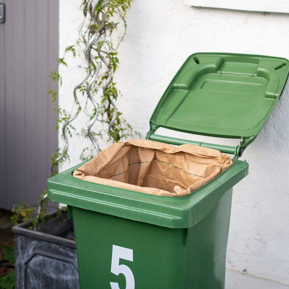 Load image into Gallery viewer, Compostable Wheelie Bin Liners (Pack of 3) - ecoLiving