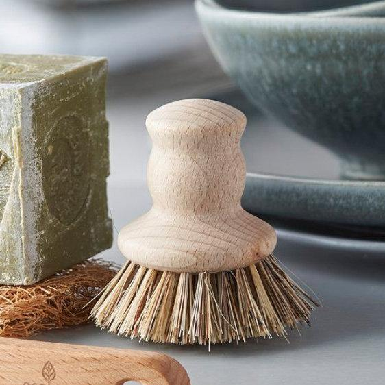 Wooden Pot Brush - Vera-Bee Limited