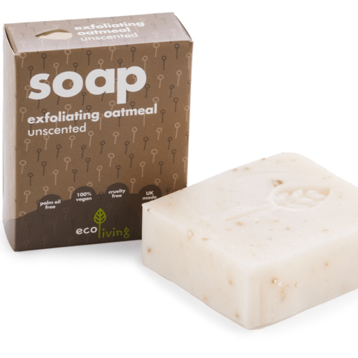 Unscented Exfoliating Oatmeal Handmade Soap - ecoLiving