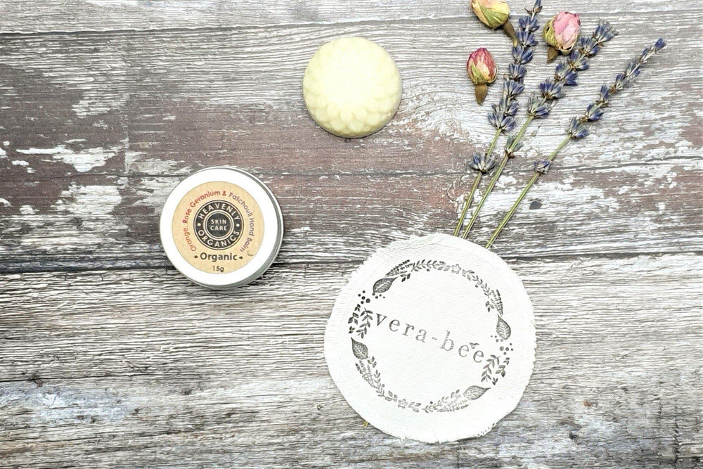 Organic Orange, Rose Geranium & Patchouli Hand Balm REFILL – Heavenly Organics - Vera-Bee Limited