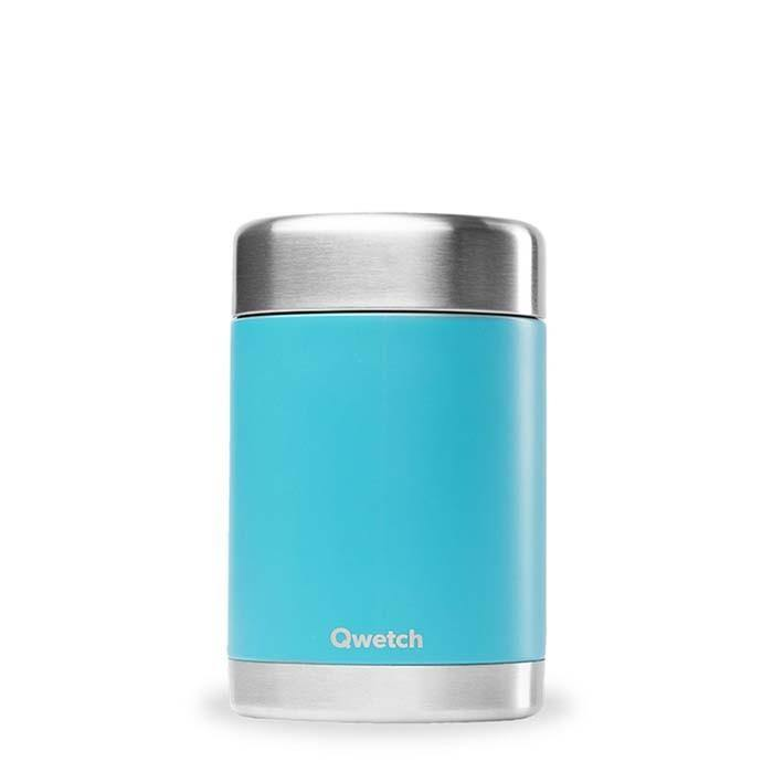 Insulated Stainless Steel Food Storage Jar/Lunch Box Turquoise 340ml - Qwetch