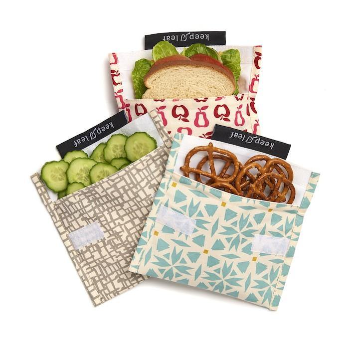 Eco Snack Bag Bloom - Keep Leaf