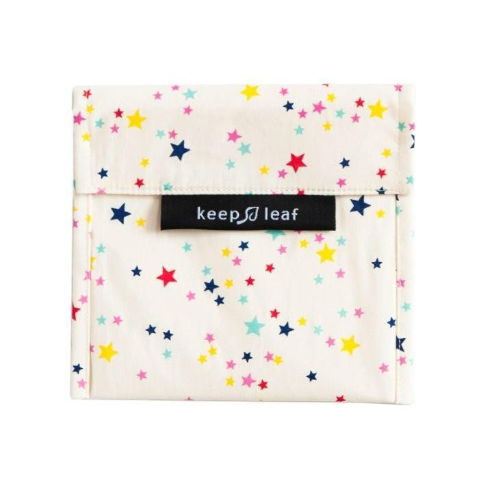Eco Snack Bag Stars - Keep Leaf - Vera-Bee Limited