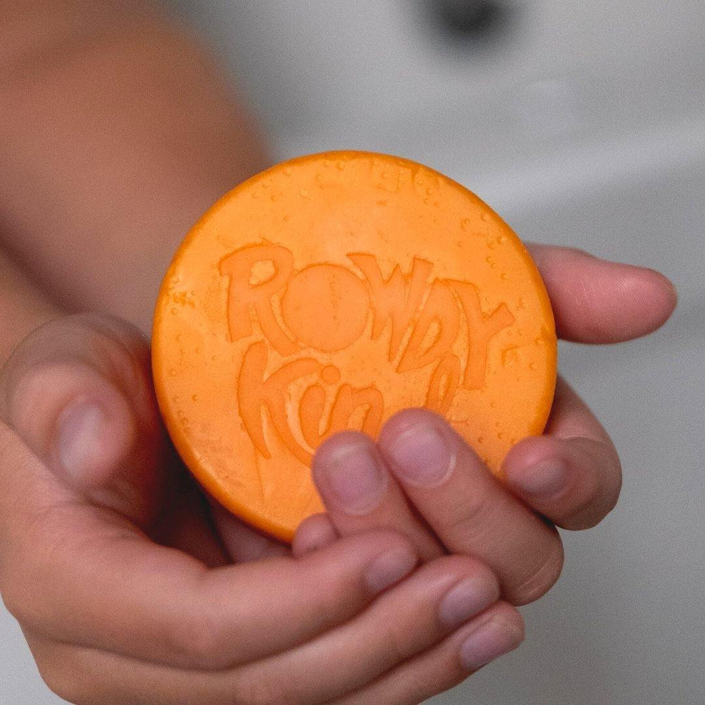 Man-GO With The Flow Conditioner Bar For Kids - Rowdy Kind