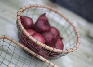 Wire Fruit Bowl Handmade - Nkuku