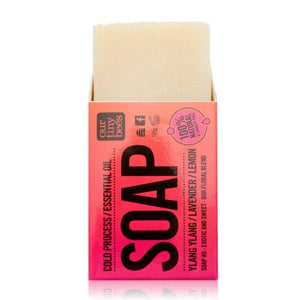 Load image into Gallery viewer, Soap #6 Ylang Ylang, Lemon & Lavender Soap - Our Tiny Bees