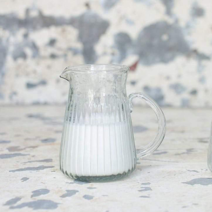 Glass Jug Handmade & Recycled Small - Nkuku