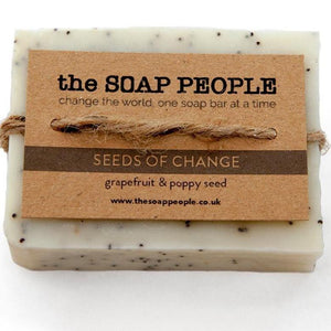 Grapefruit & Poppy Seeds Soap Bar - The Soap People