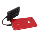 Pivoi 5000mAh Portable Power Bank Charger With Built-In Lightning Cable & Suction Cups
