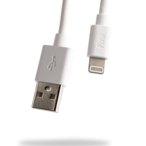 Pivoi MFi Certified USB to Lightning Cables | 3 Pack